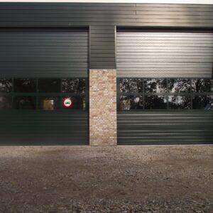 Overheaddeur T40 – Stalen overheaddeur op maat gemaakt tot 12 meter breed