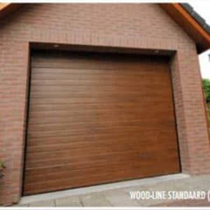 Garagedeur Wood-Line, uit het beste 'hout' gesneden